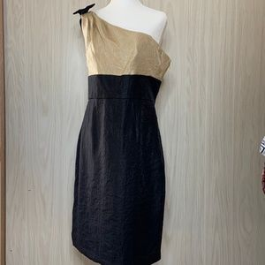NWT London Times One Shoulder Cocktail Dress 12
